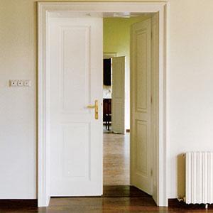 Doppelflügeltür innen  Flügeltüren Alt Wien geben ein Flair großzügiger Wohnlichkeit ...